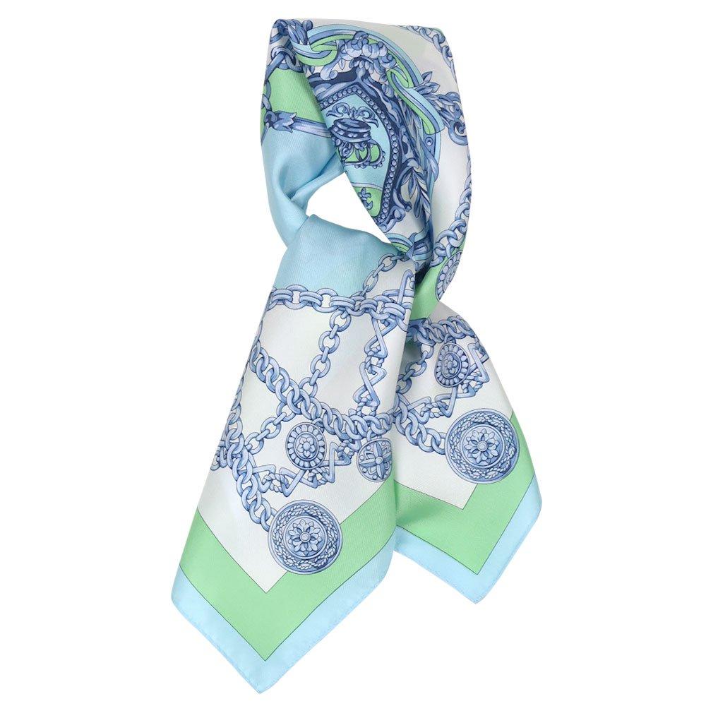 チェーン (FET-055) 伝統横濱スカーフ 小判 シルクツイル スカーフの画像1