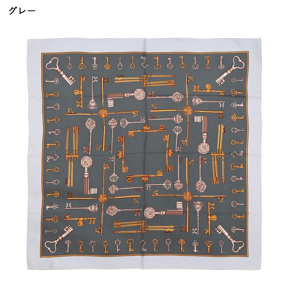ディスプレイキー (CE0-502K) Marcaオリジナル 大判 シルクツイル スカーフ