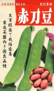 ナタマメ【赤大刀豆】〔固定種〕 ※無消毒
