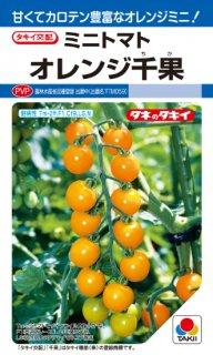 ミニトマトの種【オレンジ千果】〔F1〕 ※無消毒