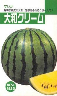 大玉スイカの種【大和クリーム2号】〔固定種〕