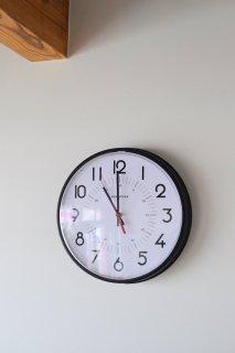 FRANKLIN(フランクリン)ウォールクロック SECONDS STARBURST DIAL 壁掛け時計 MADE IN U.S.A.