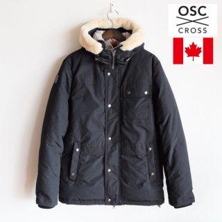 OSC CROSS(オーエスシークロス)LASALLE (ラサール)ダウンジャケット ブラック 聖林公司
