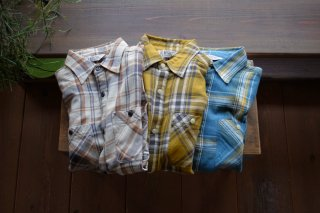 FIVE BROTHER(ファイブブラザー)ライトフランネル L/S ワークシャツ
