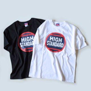 HIGH! STANDARD(ハイスタンダード)サークルプリント Tシャツ