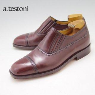 売切★極上/テストーニ a.testoni 6 メンズ シューズ★N4236-5