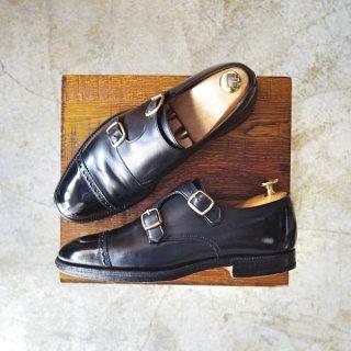 クロケット&ジョーンズ 5.5E【Lloyd Footwear別注/ロイドフットウェア】317ラスト/ダブルモンク/Crockett&Jones★b409-6