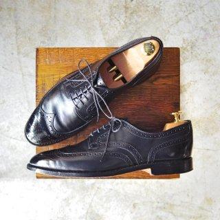 極上★(米)アレンエドモンズ 8.5D【フルブローグ/Player's Shoe】カーフ/黒/メンズ/ALLEN EDMONDS★b436
