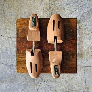 極上★(米)COLE HAAN/コールハーン Sサイズ【純正シューツリー】木製シューキーパー/メンズ★d730