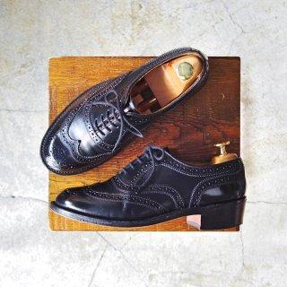 レディース★極上★トリッカーズ SIZE 6【カントリーシューズ/L5943】ウイングチップ/フルブローグ/カーフ/黒/短靴/Tricker's★d937