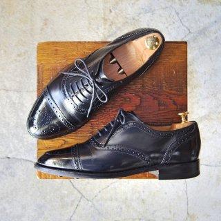極上★ロイドフットウェア 6.5E【ダイナイトソール仕様★(英)BARKER製/バーカー】Vシリーズ/セミブローグ/カーフ/Lloyd Footwear★e786