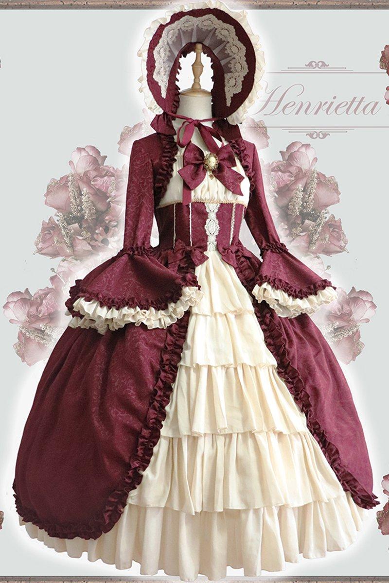 【取り寄せ】Victorian Dollワンピース【Henrietta】