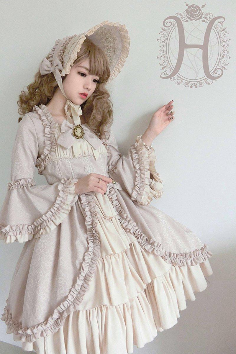 【取り寄せ】Victorian Doll ボンネット【Henrietta】