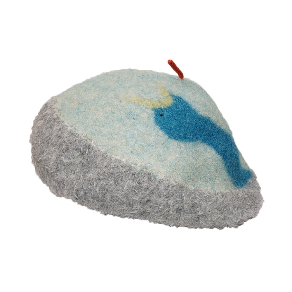 【tuduri】 ツヅリ Bird's nest beret 鳥の巣ベレー 詳細画像2