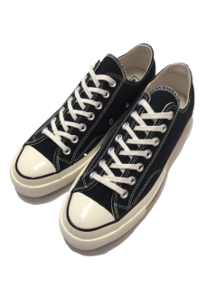 CONVERSE 1970's Chuck Taylor CT70 LOW (BLACK)