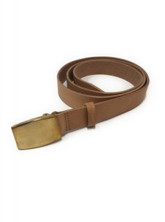 Scye COW SHOULDER G.I BUCKLE NALLOW BELT