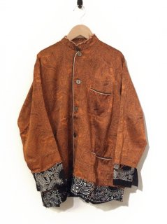 OLD PARK PULLOVER TAIL SHIRT(ORANGE)