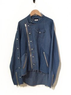 OLD PARK RIDERS SHIRT DENIM WESTERN