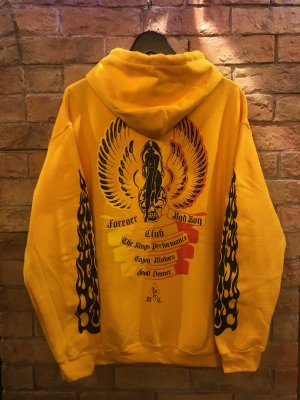 "Forever Bad Boy Club  """"Crazy Fire color Hoodie"""""