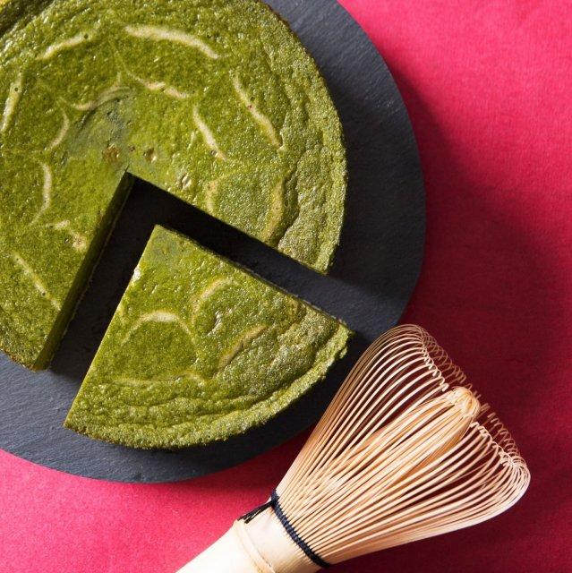 京都宇治抹茶チーズケーキ