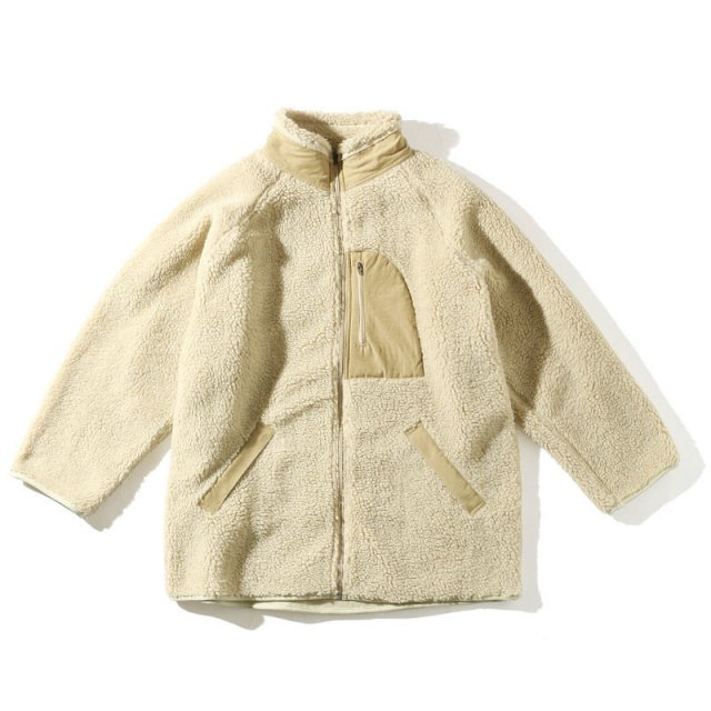 <img class='new_mark_img1' src='//img.shop-pro.jp/img/new/icons11.gif' style='border:none;display:inline;margin:0px;padding:0px;width:auto;' />LADIES MY マイ Boa Fleece Zip Blouson ボアフリースジップブルゾン WHITE