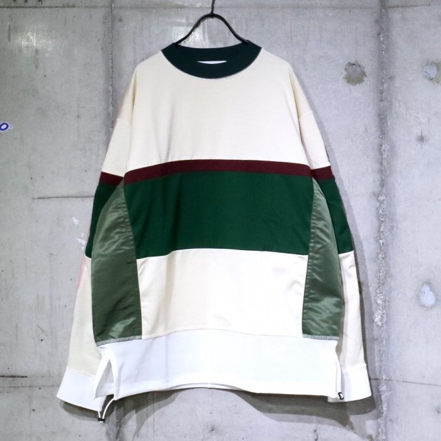 <img class='new_mark_img1' src='https://img.shop-pro.jp/img/new/icons11.gif' style='border:none;display:inline;margin:0px;padding:0px;width:auto;' />TOGA VIRILIS Rugger Pullover Off White