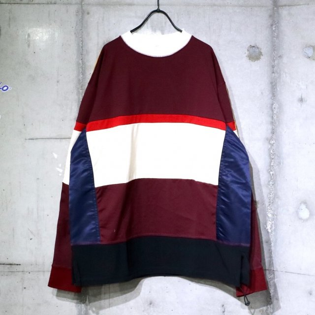 <img class='new_mark_img1' src='https://img.shop-pro.jp/img/new/icons47.gif' style='border:none;display:inline;margin:0px;padding:0px;width:auto;' />TOGA VIRILIS Rugger Pullover Dark Red