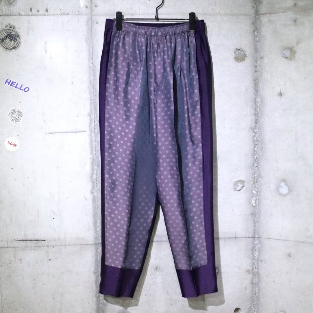 <img class='new_mark_img1' src='//img.shop-pro.jp/img/new/icons47.gif' style='border:none;display:inline;margin:0px;padding:0px;width:auto;' />TOGA VIRILIS Jacquard easy pants PURPLE