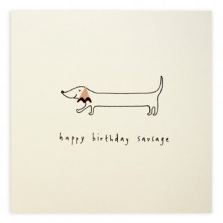 BIRTHDAY SAUSAGE DOG/RUTH JACKSON(バースデー・ソーセージ・ドッグ/ルース・ジャクソン)