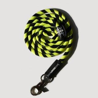 PAV LOVES DOG BLACK & YELLOW/ORIGINAL LANYARDS(パブラブスドッグ・ブラック&イエロー/オリジナル・ランヤード)