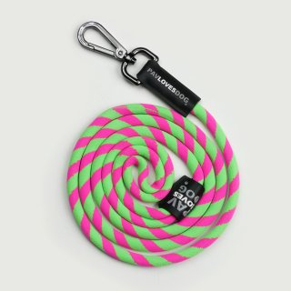 <img class='new_mark_img1' src='//img.shop-pro.jp/img/new/icons57.gif' style='border:none;display:inline;margin:0px;padding:0px;width:auto;' />PAV LOVES DOG GREEN & PINK/ORIGINAL LANYARDS(パブラブスドッグ・グリーン&ピンク/オリジナル・ランヤード)