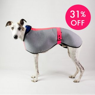 <img class='new_mark_img1' src='//img.shop-pro.jp/img/new/icons24.gif' style='border:none;display:inline;margin:0px;padding:0px;width:auto;' />WATERPROOF DOG COAT SIGHTHOUND PRED.PINK/DOGSNUG(ウォータープルーフ・ドッグコート・サイトハウンド・プレッドピンク/ドッグスナッグ)
