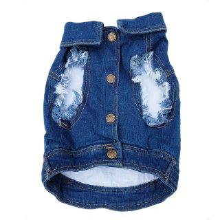 <img class='new_mark_img1' src='https://img.shop-pro.jp/img/new/icons57.gif' style='border:none;display:inline;margin:0px;padding:0px;width:auto;' />DENIM DOG VEST RAW BLUE / PETHAUS(デニム・ドッグ・ベスト・ロウブルー / ペットハウス)
