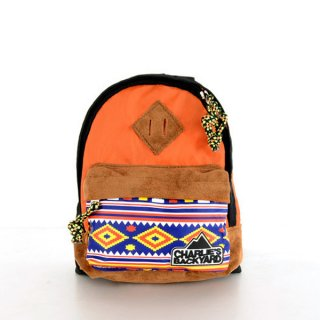 <img class='new_mark_img1' src='//img.shop-pro.jp/img/new/icons24.gif' style='border:none;display:inline;margin:0px;padding:0px;width:auto;' />CHARLIE'S BAG - ORANGE / CHARLIE'S BACKYARD(チャーリーズ・バッグ - オレンジ / チャーリーズ・バックヤード)