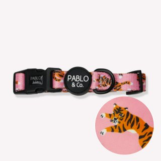 <img class='new_mark_img1' src='https://img.shop-pro.jp/img/new/icons5.gif' style='border:none;display:inline;margin:0px;padding:0px;width:auto;' />PINK TIGER COLLAR / PABLO & CO.(ピンクタイガー・カラー / パブロ&コー)