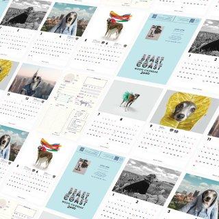 【1年の健康管理をしよう】BEAST COAST calendar 2020