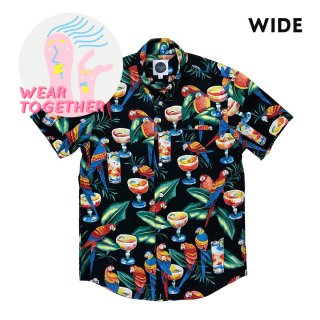 <img class='new_mark_img1' src='https://img.shop-pro.jp/img/new/icons5.gif' style='border:none;display:inline;margin:0px;padding:0px;width:auto;' />TROPICANA BBQ SHIRTS - wide & slim / dog threads(トロピカーナBBQシャツ - ひと用/ ドッグ・スレッズ)