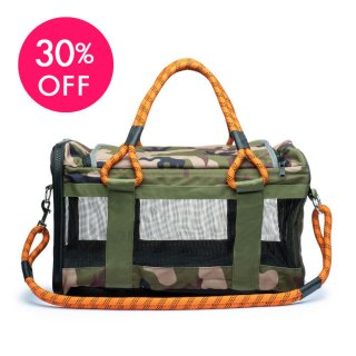 OUT-OF-OFFICE DOG CARRIER CAMO/ ROVERLUND