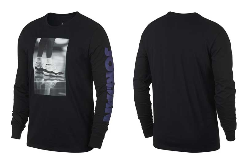 NIKE JORDAN LGC AJ 11 PHOTO LS TEE