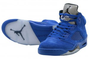 NIKE AIR JORDAN 5 RETRO - GAME ROYAL