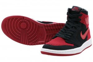 NIKE AIR JORDAN 1 RETRO HIGH FLYKNIT BG - BANNED