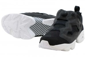 REEBOK INSTAPUMP FURY TECH - BLACK REFLECTIVE