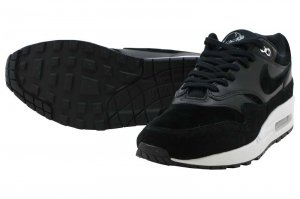 NIKE AIR MAX 1 PRM - BLACK/CHROME