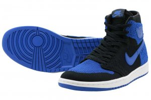 NIKE AIR JORDAN 1 RETRO HI FLYKNIT - GAME ROYAL