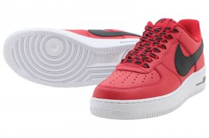 NIKE AIR FORCE 1 '07 LV8 - UNIVERSITY RED
