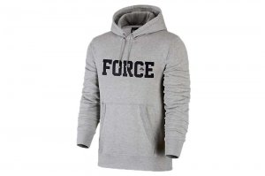 NIKE AS M NK AF 35th HOODIE - GREY