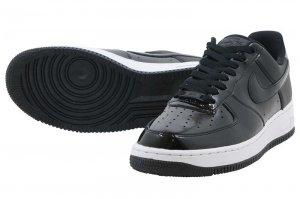 NIKE W AIRFORCE1 '07 SE PRM - BLACK