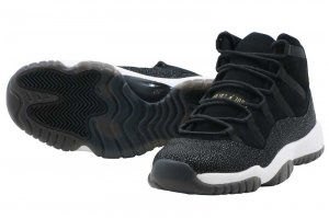 NIKE AIR JORDAN 11 RETRO PREM HC - BLACK