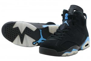 NIKE AIR JORDAN 6 RETRO - BLACK/BLUE