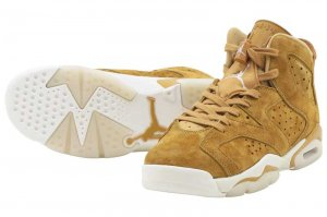 NIKE AIR JORDAN 6 RETRO BG - GOLDEN HARVEST